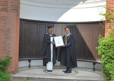 Agnes Graduates